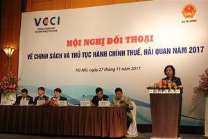 Sắp diễn ra hội nghị đối thoại về chính sách, thủ tục hành chính thuế, hải quan năm 2018