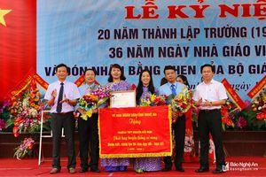 Trường THPT Nguyễn Đức Mậu (Quỳnh Lưu) kỷ niệm 20 năm thành lập