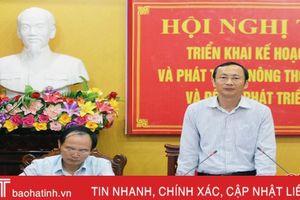 Hà Tĩnh phấn đấu đạt 34 vạn tấn lương thực trong vụ Xuân 2019