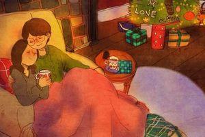 Bộ tranh cực dễ thương nói về một tình yêu hạnh phúc