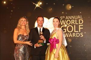 Việt Nam có đại diện nhận cú đúp giải thưởng World Golf Awards 2018