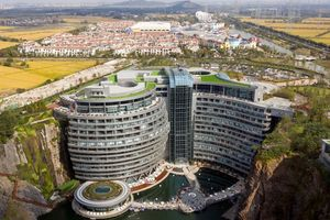 Trung Quốc ra mắt khách sạn cao tầng ngầm đầu tiên trên thế giới