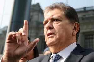 Cấm cựu tổng thống Peru García xuất cảnh 18 tháng để điều tra tham nhũng