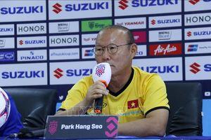 AFF Suzuki Cup 2018: HLV Park Hang-seo thừa nhận Myanmar là 'đối thủ khó chơi'