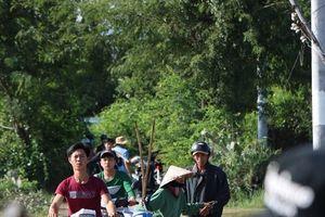 Ninh Thuận: Người dân vật vã vì áp thấp nhiệt đới sau cơn bão số 8