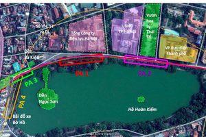 Tiếp tục tranh cãi về vị trí ga ngầm C9 gần Tháp Bút, hồ Hoàn Kiếm - Hà Nội