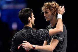 Thắng ấn tượng Novak Djokovic, Alexander Zverev lần đầu đăng quang ATP Finals