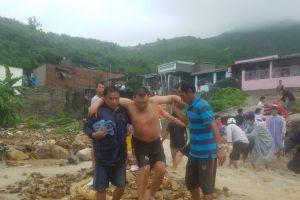 Khánh Hòa: Nhiều người thương vong do ảnh hưởng của mưa lũ
