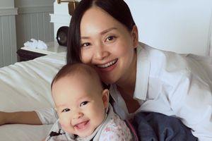 Con gái Lina luôn cười 'tỏa nắng', Lan Phương tiết lộ 5 điều khiến bé tươi vui