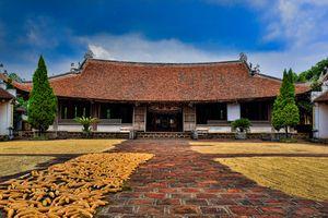 Nét đẹp bình dị, trầm mặc của làng cổ Đường Lâm