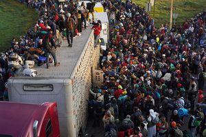 Người dân Mexico biểu tình phản đối làn sóng di dân Trung Mỹ
