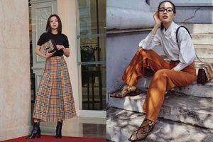 Khánh Linh, Chi Pu mix đồ ấn tượng với tông màu camel chuẩn trend xuống phố ngày đông