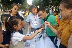 Nâng cao nhận thức phân loại rác tại Festival Kanagawa Hà Nội
