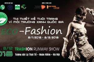 Cuộc thi thiết kế thời trang 'Vì môi trường xanh quốc gia ECO-FASHION 2018'
