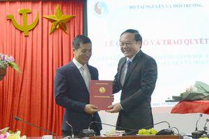 Ông Vũ Minh Lý giữ chức Phó Giám đốc Trung tâm Truyền thông tài nguyên và môi trường