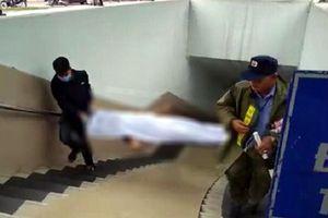 Hà Nội: Phát hiện một thi thể bên cạnh có bơm kim tiêm dưới hầm đi bộ