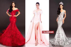Hé lộ bốn chiếc váy dạ hội của Hoa hậu Tiểu Vy tại chung kết Miss World 2018
