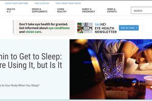 8 website về sức khỏe nổi tiếng thế giới