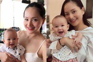 6 tháng sau sinh, Lan Phương tiết lộ 'tuyệt chiêu' giúp con gái cười toe toét mỗi ngày