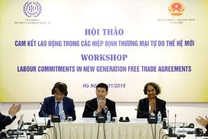 Cam kết lao động trong các Hiệp định thương mại tự do thế hệ mới.