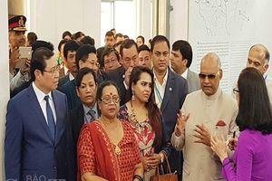 Tổng thống Ấn Độ dừng chân ở Đà Nẵng trong chuyến thăm chính thức Việt Nam