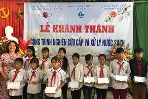 2.000 học sinh và nhân dân vùng cao được sử dụng nước sạch