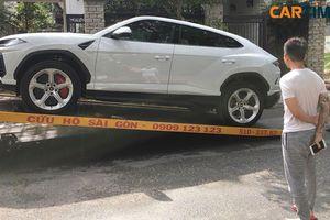 Lamborghini Urus đầu tiên tại Việt Nam về tay Minh 'nhựa'