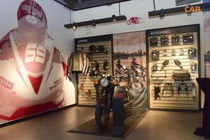 Mục sở thị bên trong đại lý xe mô tô Triumph tại Hà Nội