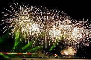 Xem lễ hội bắn pháo hoa đẳng cấp thế giới ở Hàn Quốc