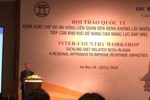 Cứ 10 ca tử vong ở Việt Nam thì có gần 8 ca tử vong do bệnh không lây nhiễm