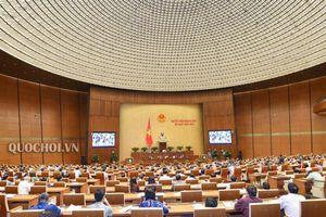 Với đa số phiếu tán thành, Quốc hội thông qua bốn dự án Luật quan trọng