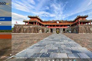 Huế: Ứng dụng công nghệ ảnh 360 độ để khám phá du lịch