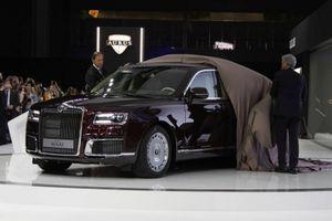 Aurus Senat - 'Rolls-Royce của Nga' sau 3 tháng ra mắt đã cháy hàng trong 2 năm tới