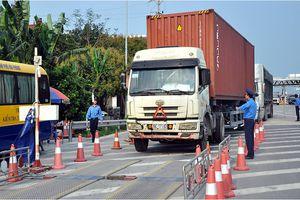Hải Phòng: Ngăn chặn hơn 90% số xe quá tải