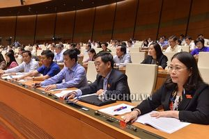 Luật Đặc xá sửa đổi được Quốc hội thông qua với tỷ lệ 92,29%