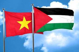 Điện mừng nhân kỷ niệm 30 năm quan hệ ngoại giao Việt Nam-Palestine