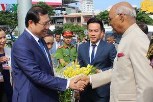 Tổng thống Ấn Độ thăm di tích Chăm tại Đà Nẵng, Quảng Nam