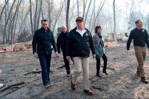Ông Trump tiếp tục gây ồn ào khi đưa cả Tổng thống Phần Lan vào câu chuyện cháy rừng