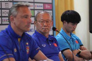 HLV Park Hang-seo nghi ngại trước đối thủ Myanmar