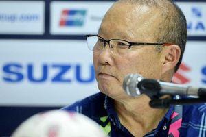 HLV Park Hang-seo: 'Chúng tôi sẽ mổ băng tình huống bị từ chối bàn thắng'