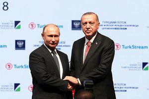 Nga - Thổ Nhĩ Kỳ khánh thành đường ống khí đốt 'Dòng chảy Thổ Nhĩ Kỳ'