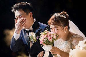 Ảnh cưới lãng mạn của 'Cô béo làng hài' Hàn Quốc