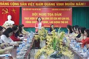 Tạo chuyển biến trong văn hóa ứng xử của nữ cán bộ công chức Thủ đô