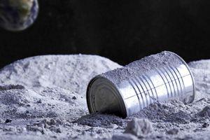 Con người đã để lại trên mặt trăng gần 200 tấn rác