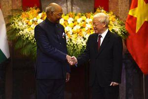 Việt Nam - Ấn Độ nhất trí đẩy mạnh hợp tác thương mại, quốc phòng