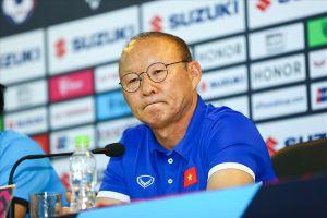 HLV Park Hang-seo: 'Tôi không hài lòng với công tác trọng tài'