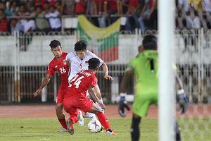 AFF Cup bảng A: Việt Nam, Myanmar mỗi đội giành 1 điểm