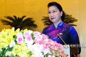Chủ tịch Quốc hội: 'Bầu Chủ tịch nước là sự kiện quan trọng'
