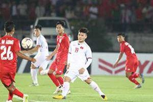Kết quả AFF Cup 2018: Hòa Myanmar, ĐT Việt Nam 90% có ngôi đầu