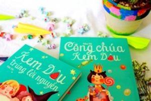 Tuổi thơ kỳ diệu của Kem Dâu trong bộ đôi tác phẩm văn học thiếu nhi